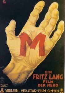 hand, m, film noir, fritz lang